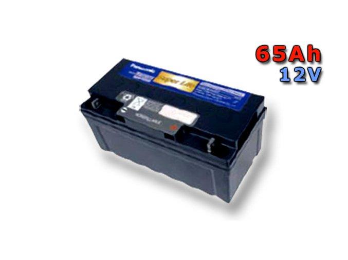 Staniční (záložní) baterie PANASONIC LC-QA1265P, 65Ah, 12V