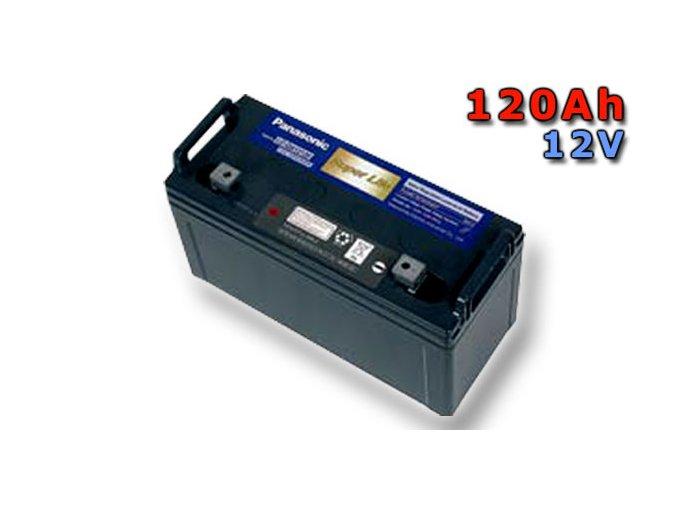 Staniční (záložní) baterie PANASONIC LC-QA12120TP, 120Ah, 12V