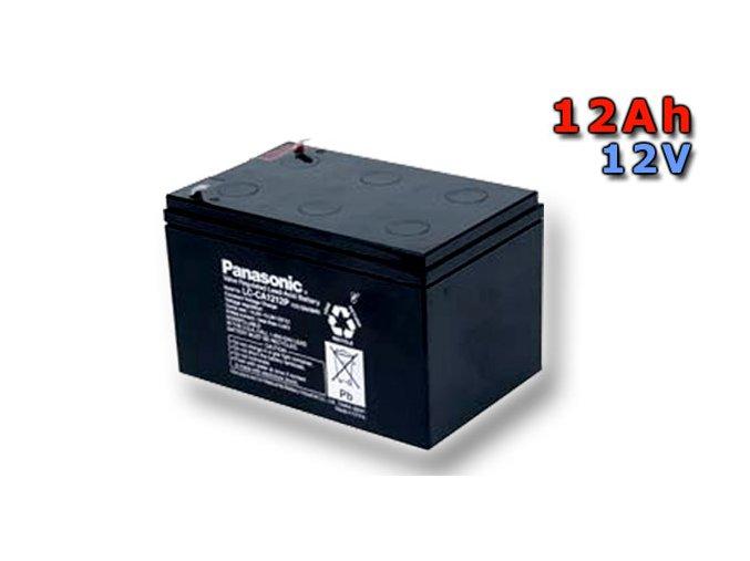 Staniční (záložní) baterie PANASONIC LC-CA1212P, 12Ah, 12V