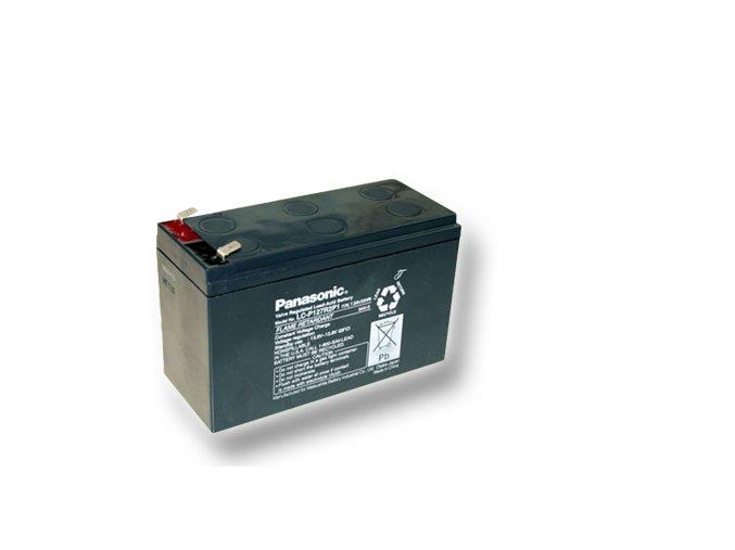 Staniční (záložní) baterie PANASONIC LC-P127R2P1, 7,2Ah, 12V