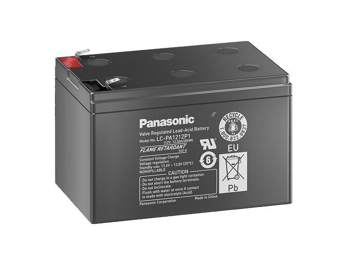 Staniční (záložní) baterie PANASONIC LC-PA1212P1, 12Ah, 12V