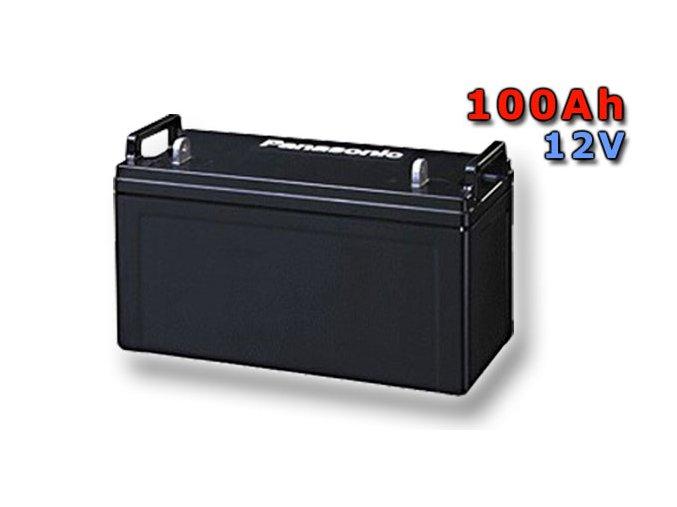 Staniční (záložní) baterie PANASONIC LC-PD12100P, 100Ah, 12V