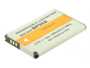 Baterie do fotoaparátu Samsung HMX-E10/HMX-E10BN/HMX-E10BP/HMX-E10BP/EDC/HMX-E10OP/HMX-E10OP/EDC/HMX-E10WP, 900mAh, 3.7V, VBI9711A