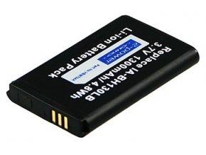 Baterie do videokamery Samsung SMX-C10/SMX-C14/SMX-C20/SMX-K44BP, 1300mAh, 3.7V, VBI9704A