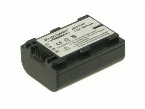Baterie do videokamery Sony DCR-HC43/DCR-HC46/DCR-HC48/DCR-HC51/DCR-HC52/DCR-HC62/DCR-HC96/DCR-SR100/DCR-SR200/DCR-SR220, 750mAh, 7.2V, VBI9700A