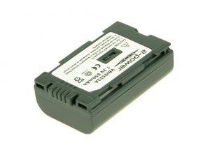 Baterie do videokamery Hitachi/Panasonic DZ-MV230E/DZ-MV270/DZ-MV270A/DZ-MV270E/AG-DVC15/AG-DVC200/AG-DVC30/AG-DVC60/AG-DVC7/AG-DVX100, 1100mAh, 7.2V, VBI9523A