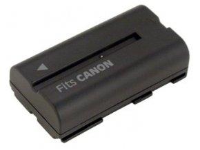 Baterie do videokamery Canon DM-MV1/DM-MV10/DM-XM1/E65AS/ES-300V/ES-4000/ES-410V/ES-420V/ES-50/ES-5000, 2200mAh, 7.2V, VBI0972A