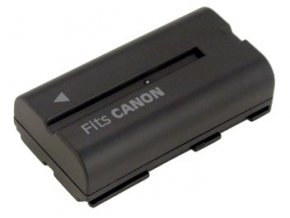 Baterie do videokamery Canon ES8000V/G-1000/G30Hi/G45Hi/GL-1/GL-2/Mini DV XL2/MV1/MV200/MV200i, 2200mAh, 7.2V, VBI0972A