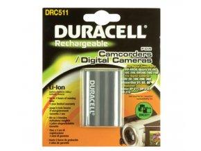 Baterie do videokamery Canon BP-511/BP-512/Digital Rebel/DM-MV100X/DM-MV100Xi/DM-MV30/DM-mv30i/DM-MV400/DM-MV400i/DM-MV430, 1400mAh, 7.4V, DRC511