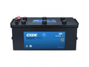 Autobaterie EXIDE Professional HD 215Ah,  12V, EG2153