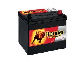 Autobaterie Banner Power Bull P60 68, 60Ah, 12V ( P6068 )