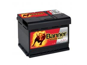 Autobaterie Banner Power Bull P62 19, 62Ah, 12V ( P6219 )