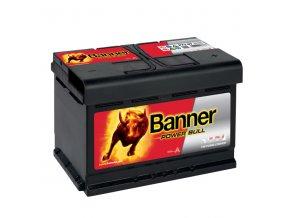 Autobaterie Banner Power Bull P72 09, 72Ah, 12V ( P7209 )