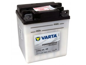 Motobatérie VARTA 12N5.5A-3B, 6Ah, 12V