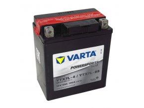 Motobatérie VARTA YTX7L-BS, 6Ah, 12V