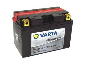 Motobatérie VARTA YT12A-BS, 11Ah, 12V
