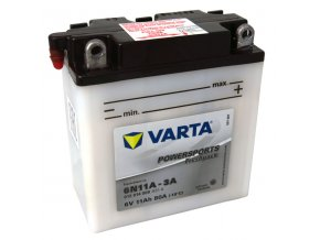 Motobatérie VARTA 6N11A-3A, 11Ah, 6V