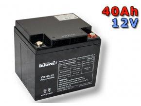 Staniční (záložní) baterie Goowei OT40-12, 40Ah, 12V ( VRLA )