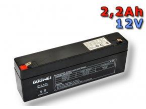 Staniční (záložní) baterie Goowei OT2.2-12, 2,2Ah,12V ( VRLA )