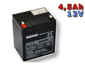 Staniční (záložní) baterie Goowei OT4.5-12, 4,5Ah,12V (VRLA )