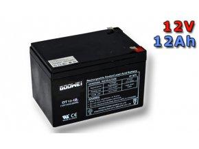 Trakčná (AGM) baterie Goowei OTL12-12, 12Ah, 12V