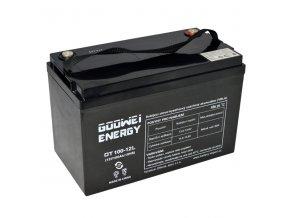 Trakčná (GEL) baterie Goowei OTL100-12, 100Ah, 12V