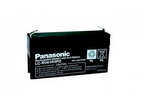 Staniční (záložní) baterie PANASONIC LC-R061R3PG, 1,3Ah, 6V