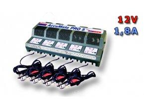 Nabíječka AccuMate PRO 5 , 1.8A (TM130)