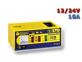 Nabíječka CA 170,  24/12V + 18A