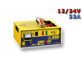 Nabíječka CA 225,  24/12V + 22A