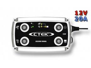 Nabíječka CTEK D250s DUAL, 12V, 20A