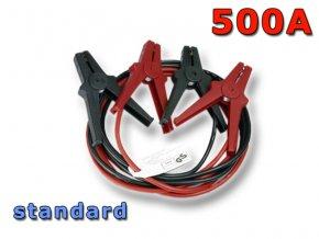 Startovací kabely GYS STANDARD, 500A, 25mm, 3.5m