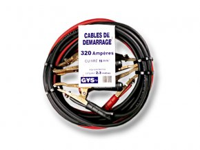 Startovací kabely GYS PROFI, 320A, 16mm, 3.0m