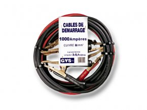 Startovací kabely GYS PROFI, 1000A, 50mm, 5.1m