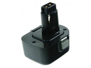 Baterie do AKU nářadí Black & Decker KC12GTKB/KC12GTKH/KC2000FK/KC2000FK-P1/PS1200K/PS350/PS3500/PS3525/PS3550/PS3550K, 2000mAh, 12V, PTH0072A