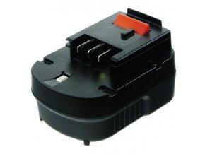 Baterie do AKU nářadí Black & Decker HP126F2K/HP126F3B/HP126F3K/HP126FBH/HP126FSC/HP126FSH/HP126K/HP128F3B/HP12K/HP12KD, 2000mAh, 12V, PTH0073A