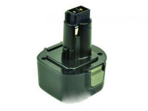 Baterie do AKU nářadí Black & Decker HM9600/HP131/HP131K-2/HP231/HP9060/HP9096/HP9096K/HP96K/KC96CE/KC96VE, 2000mAh, 9.6V, PTH0079B