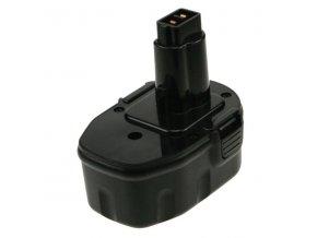 Baterie do AKU nářadí Dewalt DC528 (Flash Light)/DC528 (Flashlight)/DC551KA/DC612KA/DC613KA/DC614KA/DC615KA/DC728KA/DC757KA/DC757KB, 2000mAh, 14.4V, PTN0040A