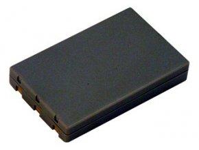 Baterie do fotoaparátu Casio Exilim Card EX-M1/Card EX-M2/Card EX-M20/Card EX-M20U/Card EX-S1/Card EX-S100/Card EX-S100WE/Card EX-S1PM/Card EX-S2/Card EX-S20, 630mAh, 3.7V, DBI9611A