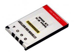 Baterie do fotoaparátu Casio Exilim Card EX-S20U/EX-S2PW/EX-S3/EX-S500/EX-S500EO/EX-S500GY/EX-S500WE/EX-S600/EX-S600BE/EX-S600D, 630mAh, 3.7V, DBI9611A