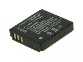 Baterie do fotoaparátu Panasonic Lumix DMC-FX10S/Lumix DMC-FX12/Lumix DMC-FX12EB/Lumix DMC-FX12EF/Lumix DMC-FX12EG/Lumix DMC-FX12GK/Lumix DMC-FX12K/Lumix DMC-FX12S/Lumix DMC-FX150/Lumix DMC-FX3, 1050mAh, 3.7V, DBI9709A