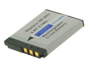 Baterie do fotoaparátu Casio EX-FS10/EX-S12/Exilim Card EX-S10/Exilim Card EX-S10BE/Exilim Card EX-S10BK/Exilim Card EX-S10RD/Exilim Card EX-S10SR/Exilim EX-FS10/Exilim EX-S10/Exilim EX-S10BE, 720mAh, 3.7V, DBI9921A