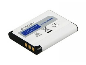 Baterie do fotaparátu Sanyo XactiDMX-CG11W/XactiDMX-GH1/XactiVPC-CA100/XactiVPC-CA102/XactiVPC-CA102YL/XactiVPC-CG10/XactiVPC-CG102/XactiVPC-CG10BK/XactiVPC-CG10GX/XactiVPC-CG10P, 620mAh, 3.7V, DBI9936A