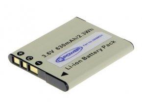 Baterie do fotoaparátu Sony Cybershot t DSC-W350/t DSC-W350D/t DSC-W350N/t DSC-W350P/t DSC-W350S/t DSC-W360/t DSC-W380/t DSC-W390/t DSC-W510/t DSC-W520, 630mAh, 3.6V, DBI9953A