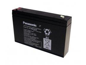 Staniční (záložní) baterie PANASONIC LC-R067R2P, 7,2Ah, 6V