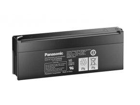 Staniční (záložní) baterie PANASONIC LC-R122R2PG, 2,2Ah, 12V