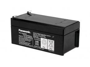 Staniční (záložní) baterie PANASONIC LC-R123R4PG, 3,4Ah, 12V