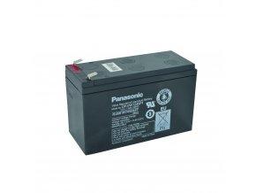 Staniční (záložní) baterie PANASONIC UP-RW1245P1, 9Ah, 12V