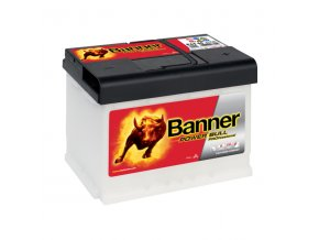 Autobaterie Banner Power Bull PROfessional P63 40, 63Ah, 12V ( P6340 )
