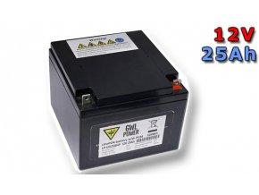 Lithium Yttrium - LiFePO4/LiFeYPO4 akumulátor 12V, 25Ah